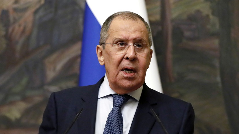 Лавров прокомментировал визит главы МИД Ливии в Россию