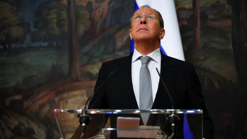 Лавров: Россия поддерживает вывод всех иностранных военных из Ливии