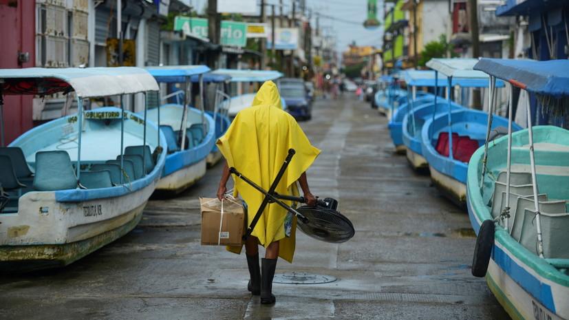 Ураган «Грейс» достиг восточного побережья Мексики