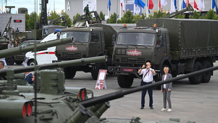 «Многие из вооружений не имеют аналогов»: Путин оценил российский ОПК на открытии форума «Армия-2021»