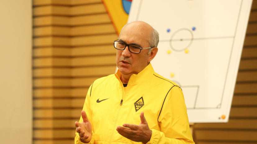 Казахстанский«Кайрат» объявил о назначении Бердыева главным тренером команды