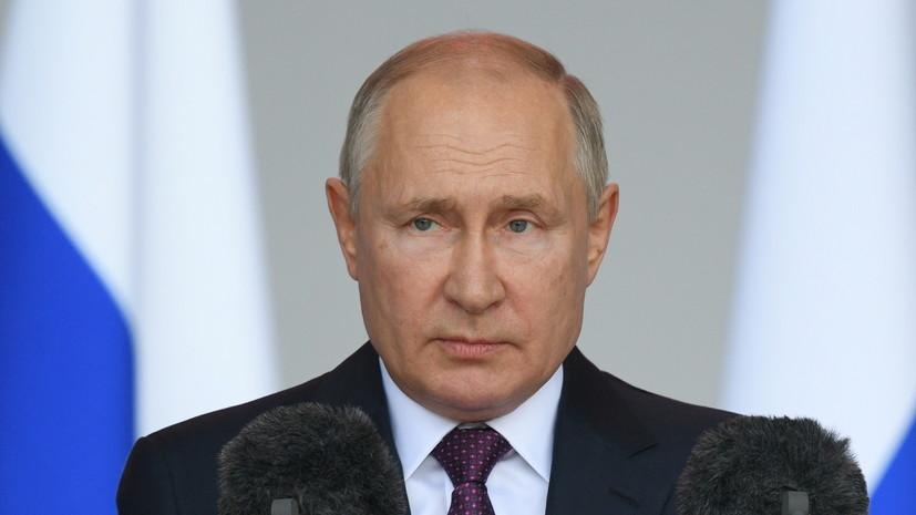 Путин заявил о возможности решения жилищного вопроса в России