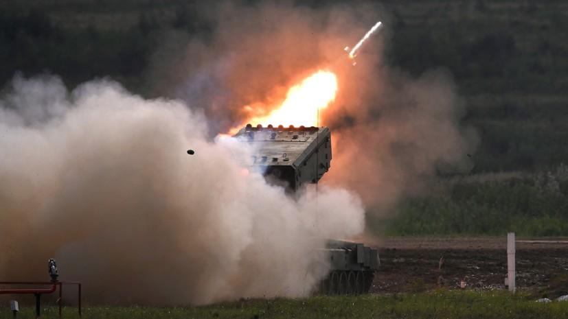 «Эффективное и мощное оружие»: как проходит модернизация огнемётной системы ТОС-1А «Солнцепёк»