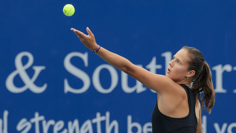 Касаткина проиграла в 1/4 финала турнира WTA в Кливленде