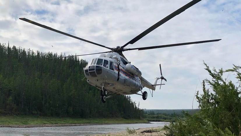 Сотрудники МЧС ликвидировали девять природных пожаров в Якутии