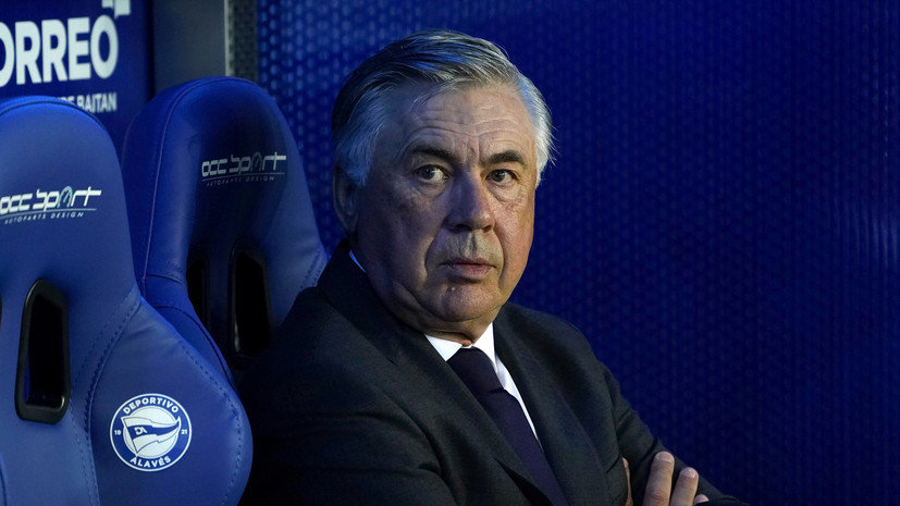 Анчелотти ответил на вопрос о возможном переходе Мбаппе в «Реал»
