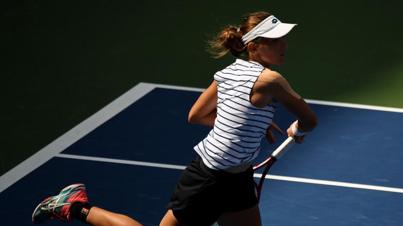 Грачёва поднялась на шесть строчек в рейтинге WTA
