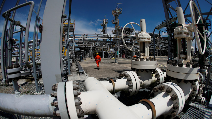 Цена на газ в Европе в ходе торгов преодолела отметку в $590 за тысячу кубометров