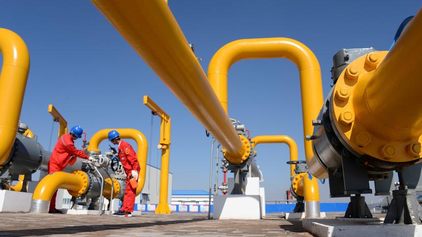 Цена на газ в Европе в ходе торгов преодолела отметку в $600 за тысячу кубометров