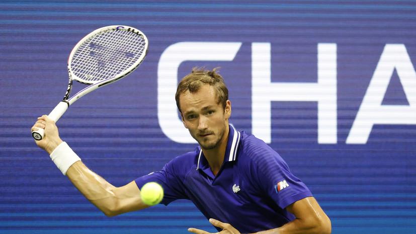 Медведев победил Гаске в матче первого круга US Open