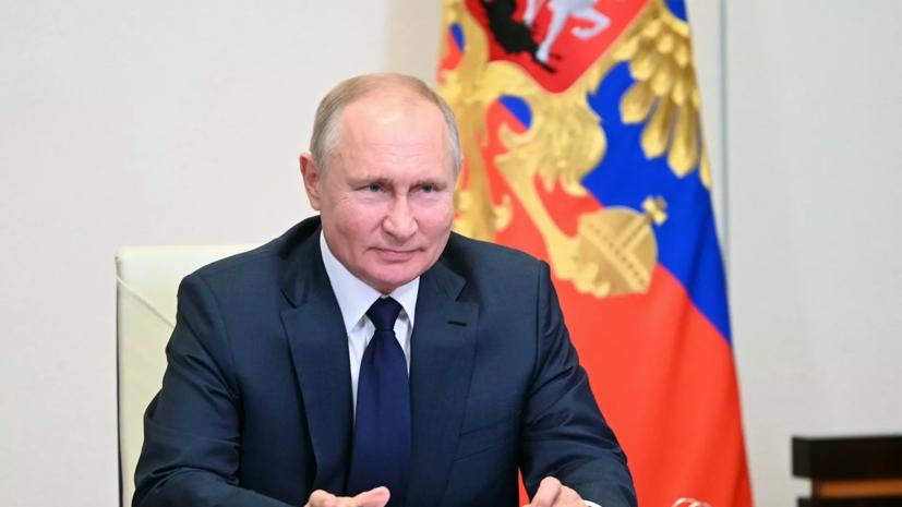 Путин поздравил Жапарова с 30-летием независимости Киргизии