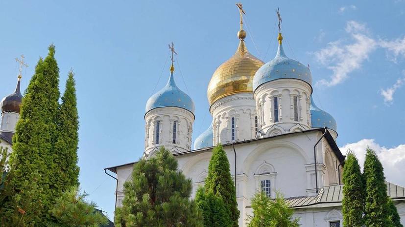 В Москве отреставрируют собор Новоспасского монастыря
