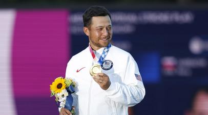 Шоффель стал олимпийским чемпионом по гольфу