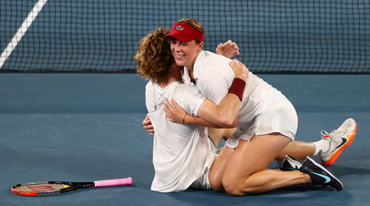 Российские теннисисты Андрей Рублёв и Анастасия Павлюченкова