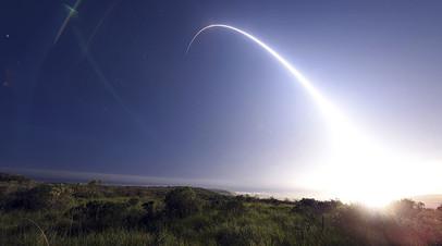 Запуск межконтинентальной баллистической ракеты Minuteman III, 25 февраля 2016 г.
