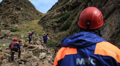 В горах Кабардино-Балкарии погиб альпинист