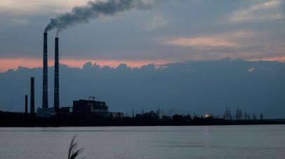 Украинская теплоэлектростанция