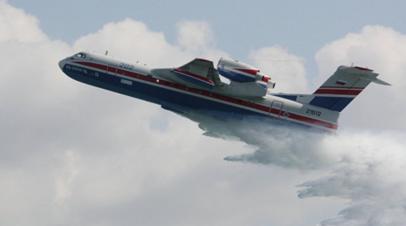 В Турции потерпел крушение пожарный самолёт