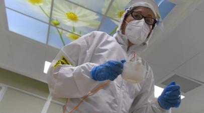 В России за сутки выявили 21 624 случая коронавируса