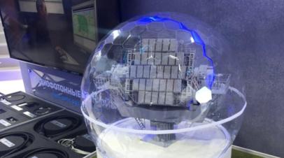 Макет радиолокационной станции наблюдения за космическими объектами «Сула»