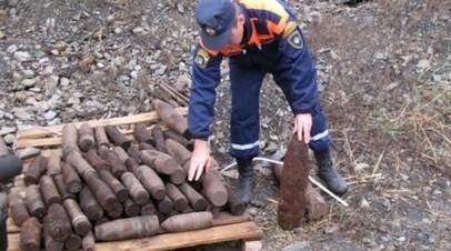 В Ростовской области обезвредили 345 снарядов времён Великой Отечественной войны с начала года