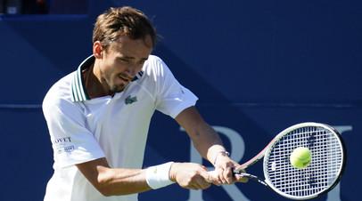 Медведев вспомнил, как играл с Димитровым на US Open в преддверии их матча в Цинциннати