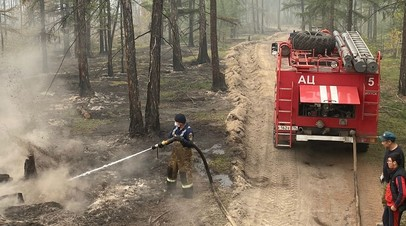 В Якутии за минувшие сутки потушили 28 лесных пожаров