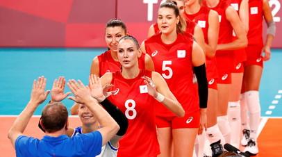 Женская сборная России по волейболу победила Францию в стартовом матче чемпионата Европы
