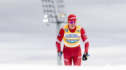 Непряева и Большунов завоевали золотые медали на этапе Кубка мира по лыжероллерам