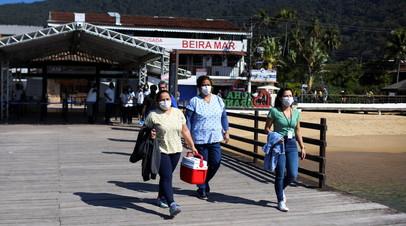 В Бразилии за сутки выявили более 13 тысяч случаев коронавируса