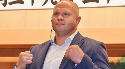 Оверим рассказал, как безуспешно пытался добиться боя с Фёдором Емельяненко