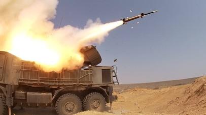 Самоходный зенитный ракетно-пушечный комплекс «Панцирь-С1»