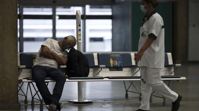 В Бразилии выявили более 30 тысяч случаев коронавируса