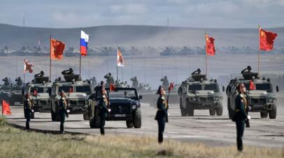 В Китае рассказали о военных учениях с Россией