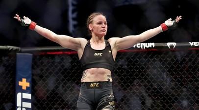 Чемпионка UFC в наилегчайшем весе Валентина Шевченко