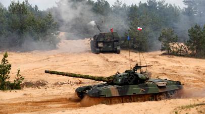 Военные учения Namejs в Латвии