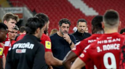РБ Спорт: Виторию могут уволить из Спартака во время паузы на матчи сборной