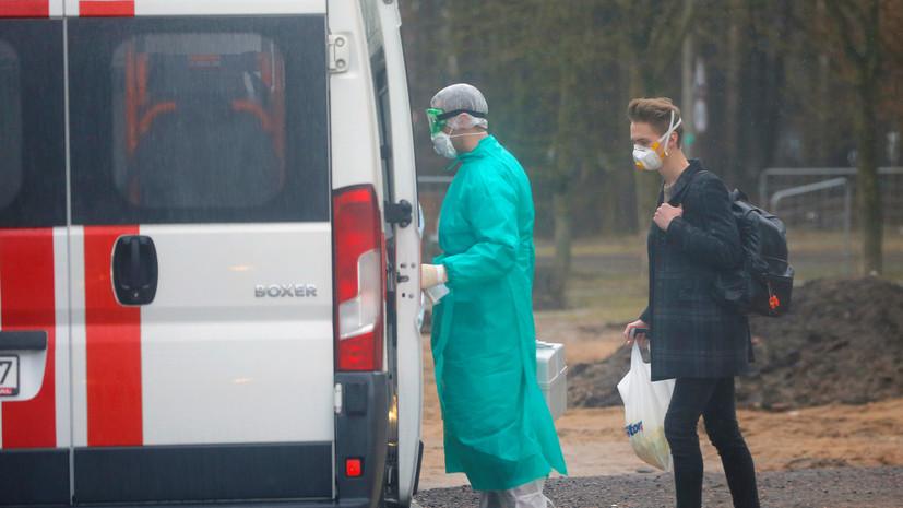 В Белоруссии за сутки выявили 1699 случаев коронавируса