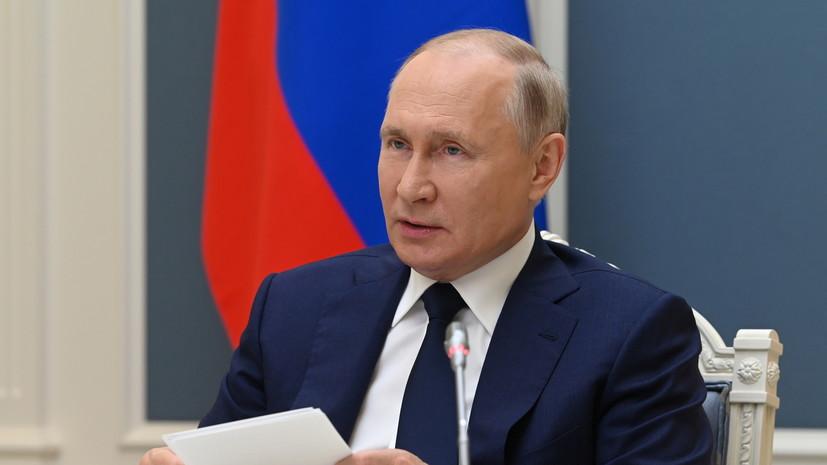 Песков: Путин держит тему инфляции в России на личном контроле