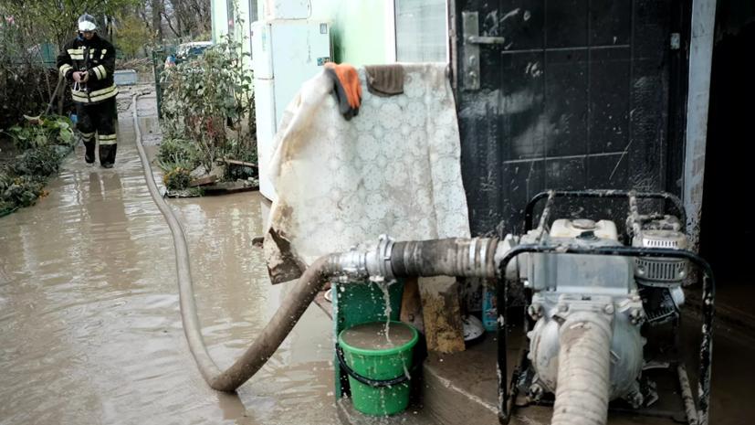 В Апшеронском районе Кубани ввели режим ЧС из-за подтоплений