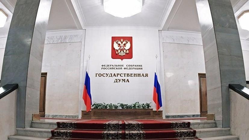 В Госдуме поддержали призыв ввести эмбарго на поставки оружия Украине