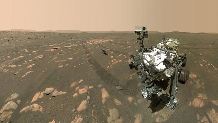 Марсоход Perseverance получил пробы грунта