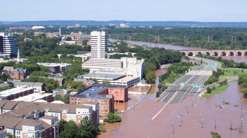 CNN: число жертв наводнений на северо-востоке США возросло до 46
