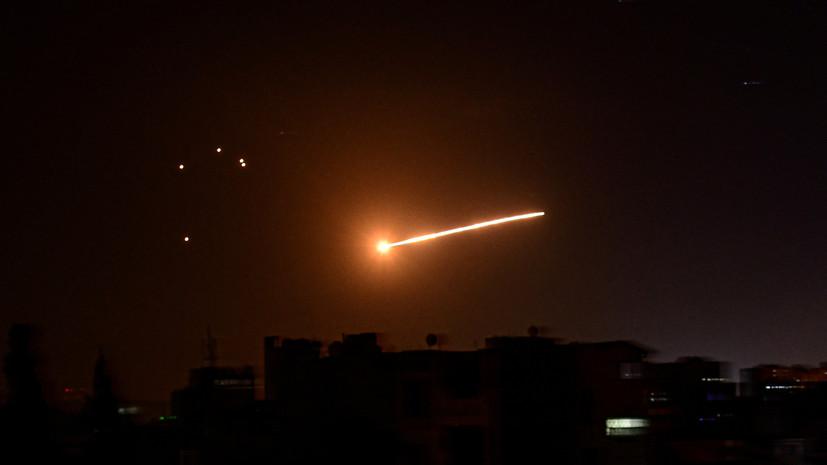 SANA: Израиль нанёс авиаудары по пригороду Дамаска