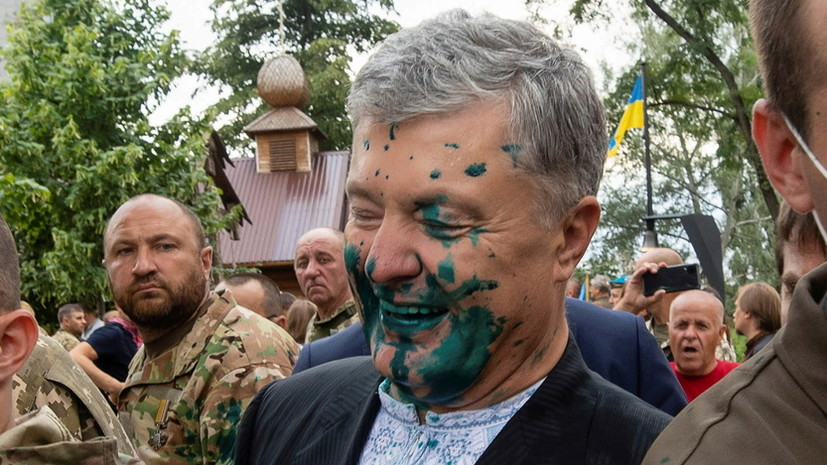 Киевский суд обязал полицию открыть дело из-за нападения на Порошенко