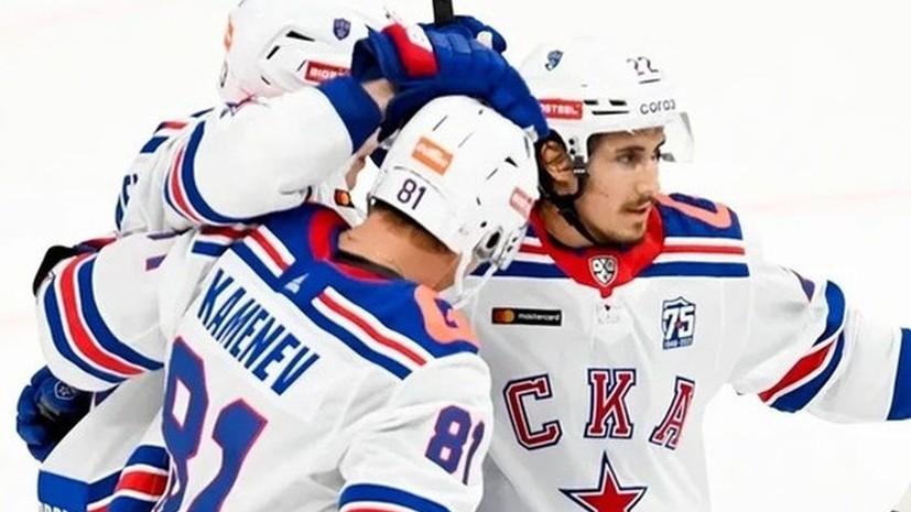 СКА обыграл «Локомотив» в серии буллитов