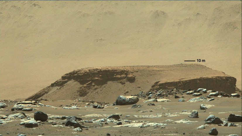 NASA подтвердило сбор грунта марсоходом Perseverance