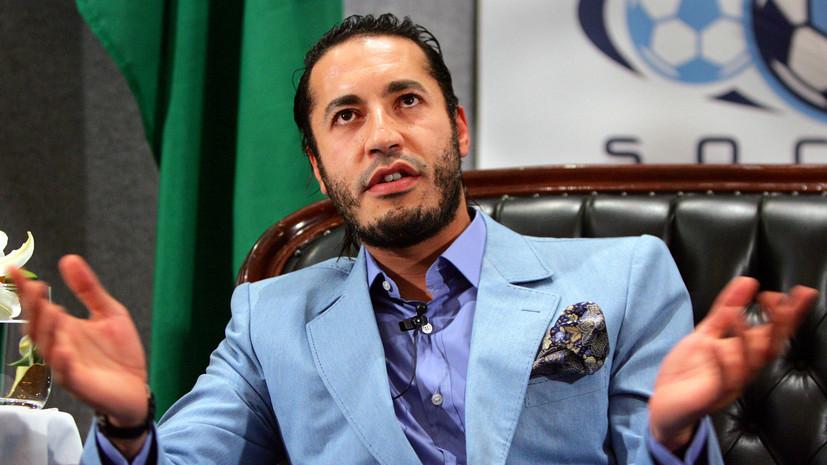 Libya Observer: сын Каддафи вышел из тюрьмы в Ливии и улетел в Турцию