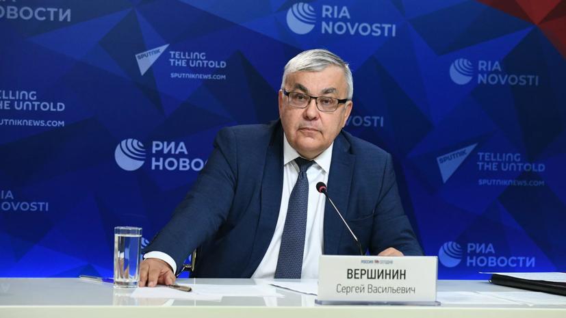 Замглавы МИД России провёл переговоры с послом Ливана