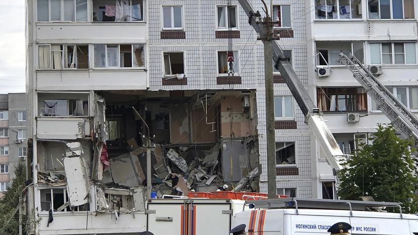 Омбудсмен рассказала о состоянии двух девочек, вытащенных из-под завалов в Ногинске